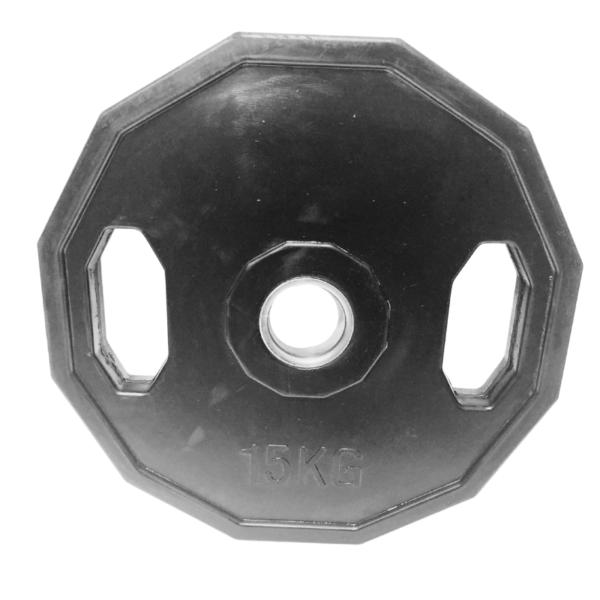 ASG Vægtskive m.håndtag 15 KG Ø50