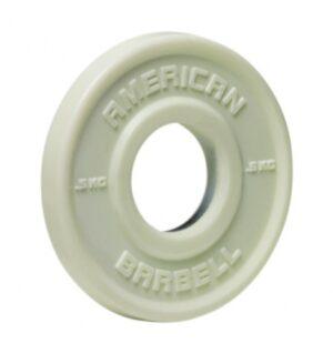 American Barbell 0,5 kg Urethane Fractional Vægtskive