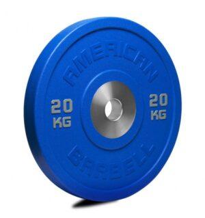 American Barbell 20 kg Urethane Pro Serie Bumper Plate