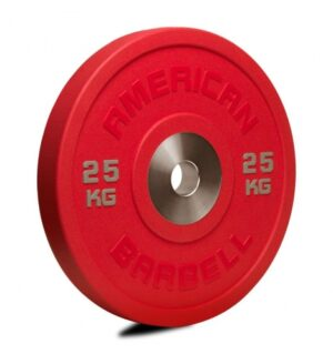 American Barbell 25 kg Urethane Pro Serie Bumper Plate