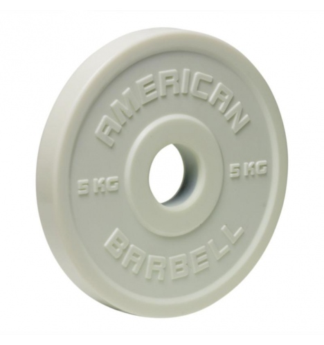 American Barbell 5 kg Urethane Fractional Vægtskive