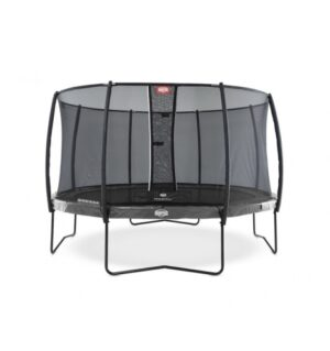 BERG Elite 380 grå inkl Deluxe sikkerhedsnet