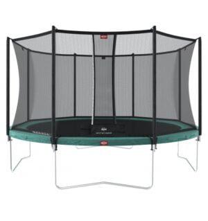 BERG Favorit 330 Grøn inkl Comfort sikkerhedsnet