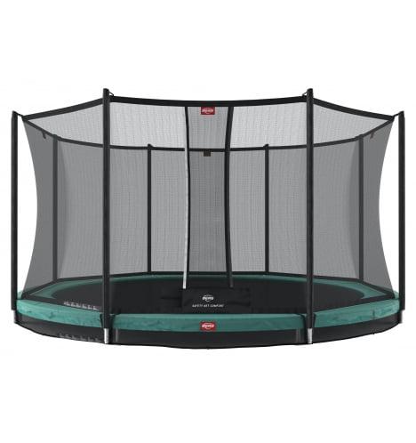 BERG Favorit 430 InGround Grøn inkl sikkerhedsnet Comfort