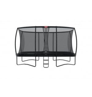 BERG Ultim Elite 500 Grå inkl sikkerhedsnet Deluxe XL