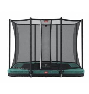 BERG Ultim Favorit 280 Inground Grøn inkl Sikkerhedsnet Comfort
