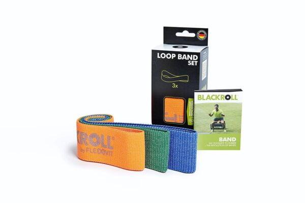 Blackroll Loop Band Træningselastik Sæt (3 stk)