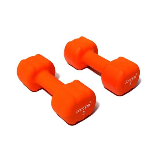 Håndvægte 8,0 kg Gul, Jordan Neopren (sæt)