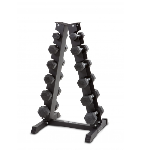 Håndvægte inkl stativ 2-9 kg