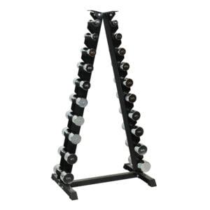 ODIN 110kg Krom Sæt (10 sæt håndvægte + rack)