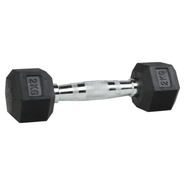 ODIN Hex Håndvægte 2kg (1 stk)