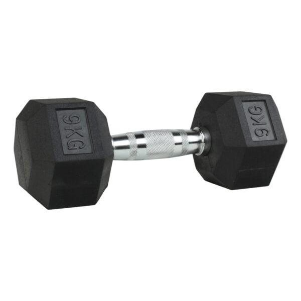 ODIN Hex Håndvægte 9kg (1 stk)