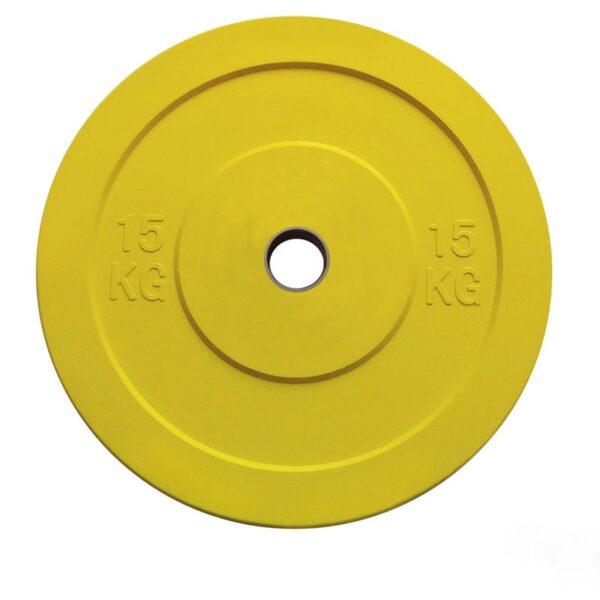 TOORX CHALLENGE BUMPERPLATE - 15 KG