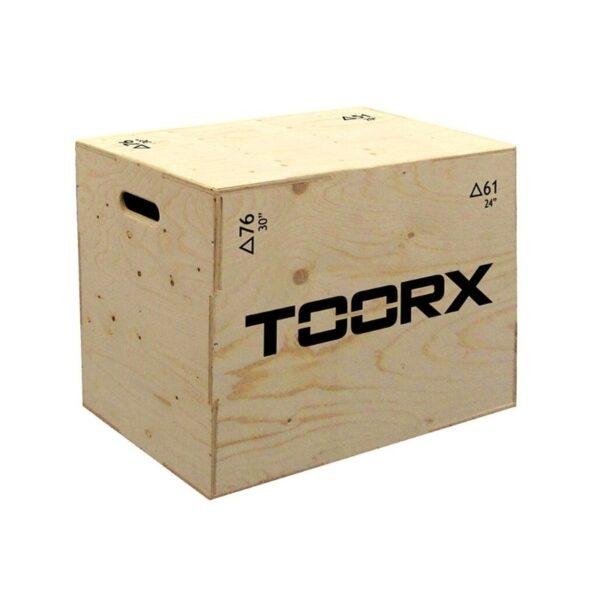 TOORX Plyo Box Træ (75x61x51 cm)