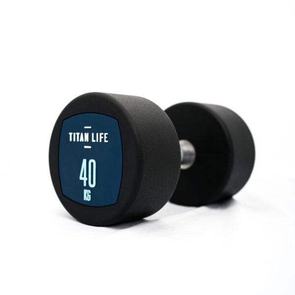Titan Life Dumbbell Håndvægte 40kg (1stk)