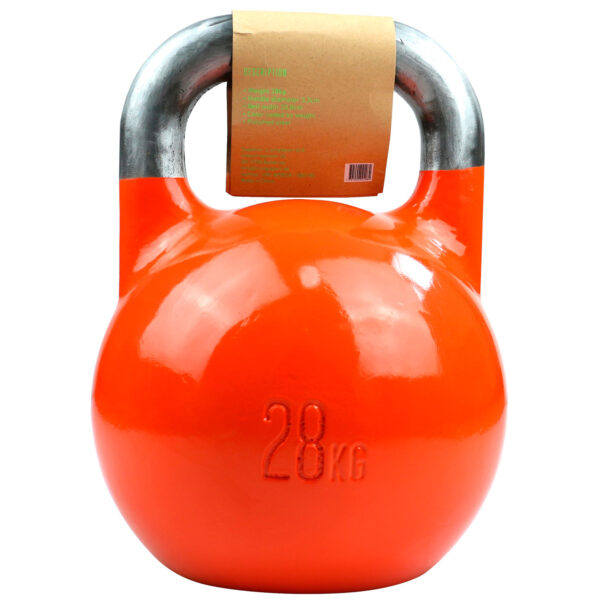 Titan Life Gym 28kg Kettlebell Steel Competition
