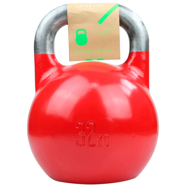 Titan Life Gym 32kg Kettlebell Steel Competition