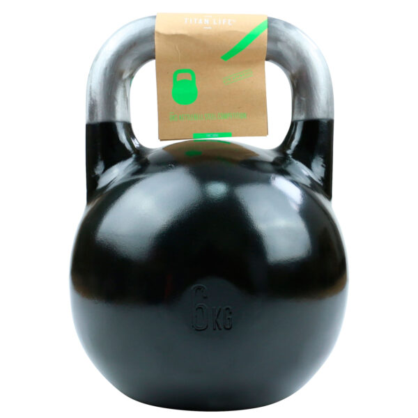 Titan Life Gym 6kg Kettlebell Steel Competition