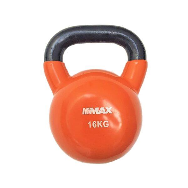 Titan Life Vinyl Kettlebell 16kg Orange