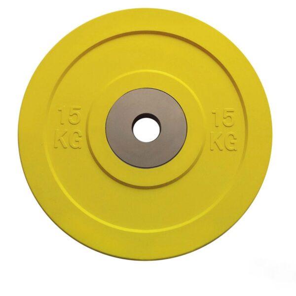 Toorx Competetion. Bumperplate - 15 kg / Ø50 mm