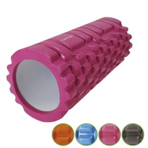 Tunturi Yoga Grid Foamroller - 33 cm /Pink