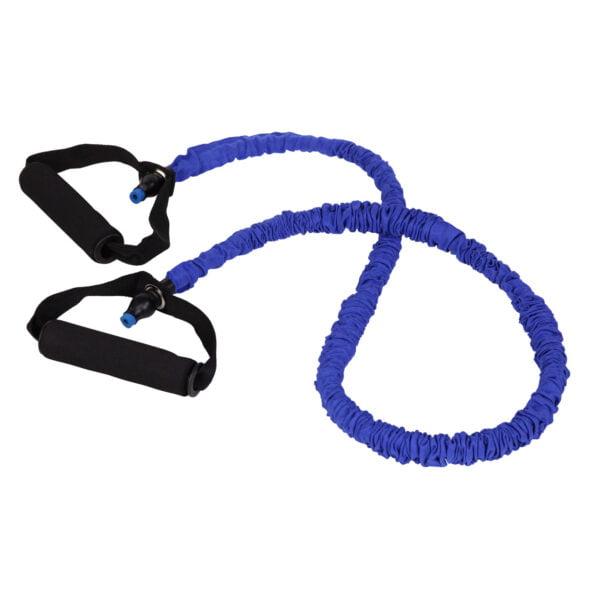 cPro9 Exertube Deluxe Træningselastik Niveau 0 X-Let Blå