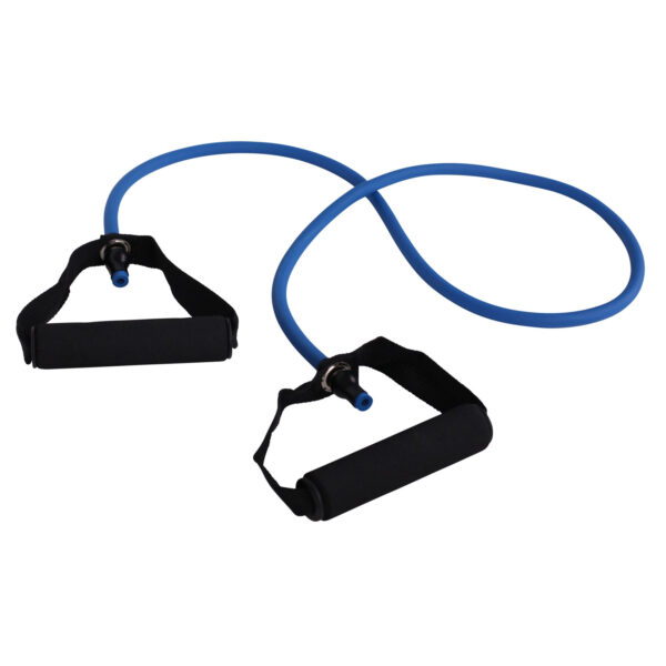 cPro9 Latex Exertube Træningselastik Niveau 0 X-Let Blå